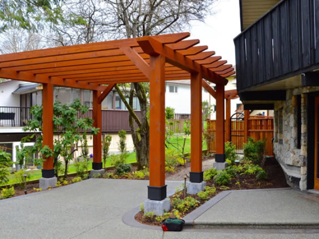 Custom Pergola Builder Serving Victoria BC.