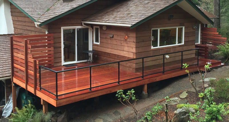 Kayu Batu Red Balau Deck Builder In Victoria BC